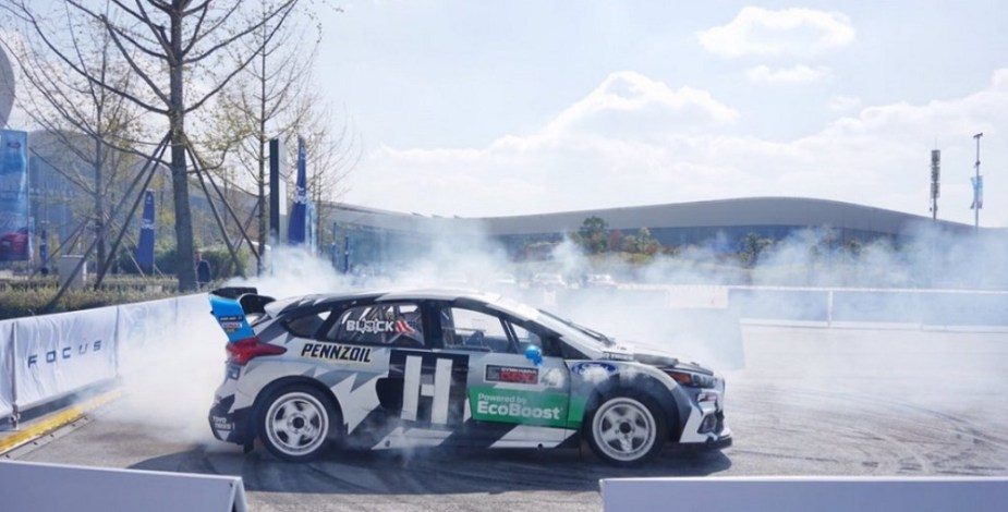 Ken Block Is Taking His Ford Escort RS Cosworth Rally Car on