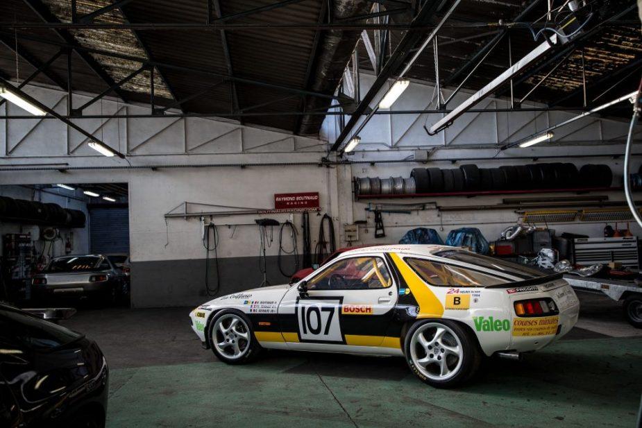 Le Mans Porsche 928 S