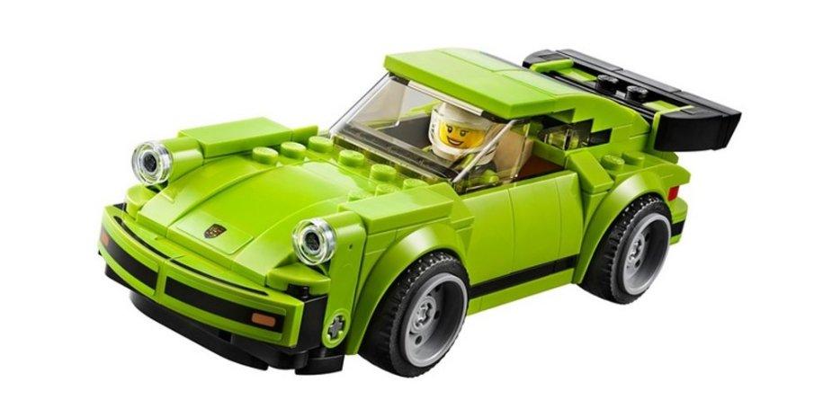 Lego Porsche 911 Turbo 3.0 Toy