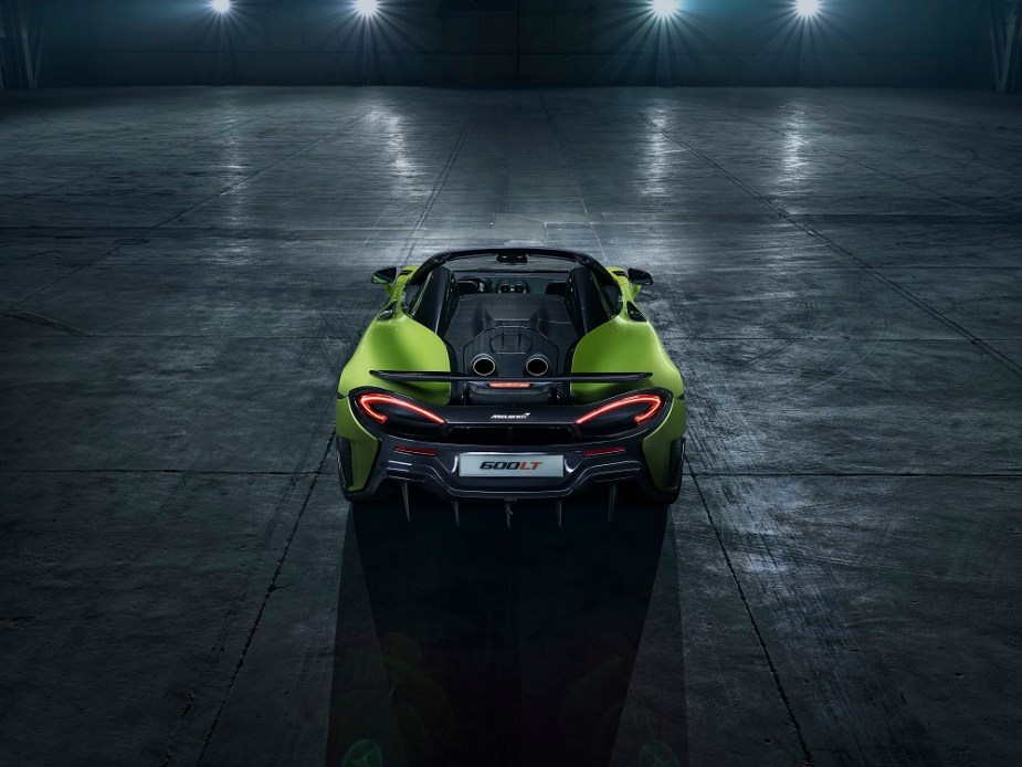 TEAM SPEED: McLaren 600LT Spider