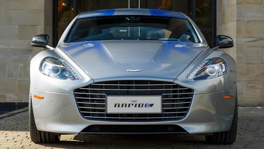 Aston Martin Rapide E Front