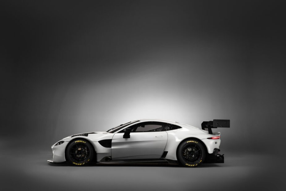Aston Martin Vantage GT3 in White