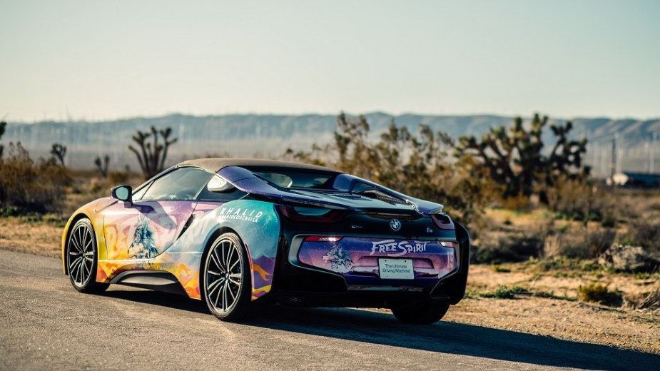 BMW i8 Roadster Coachella Khalid