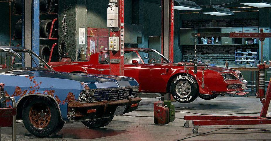 Work on Cars without Getting Dirty via Simulation Game - TeamSpeed