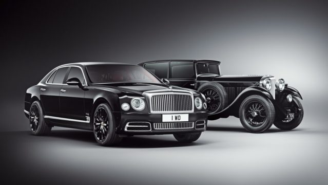 Mulsanne WO Edition and 8-Litre HERO
