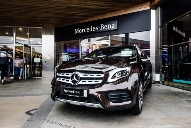 Mercedes-Benz Pop Up Shop Norwich
