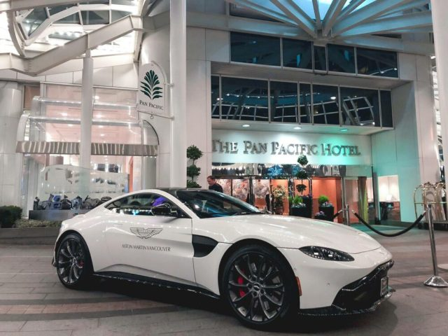 Aston Martin Vancouver at Pan Pacific Hotel