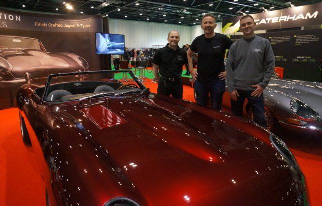 Electric Jaguar E-Type