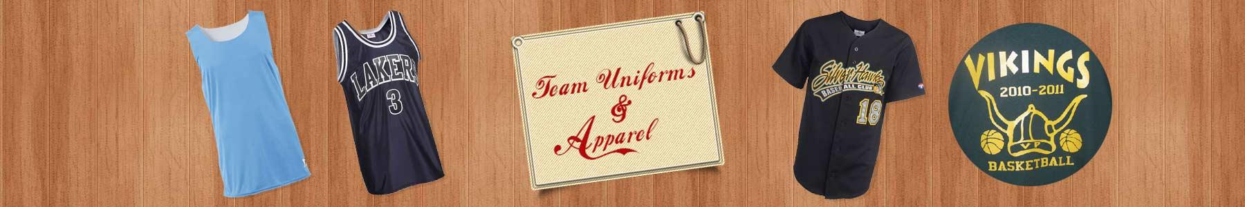 Custom Team Uniforms-Screen Printed Apparel