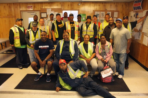 Local 710 Members at Translogix