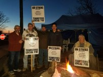 Day five of the ULP strike at Railway Industrial Services (01.21.17)