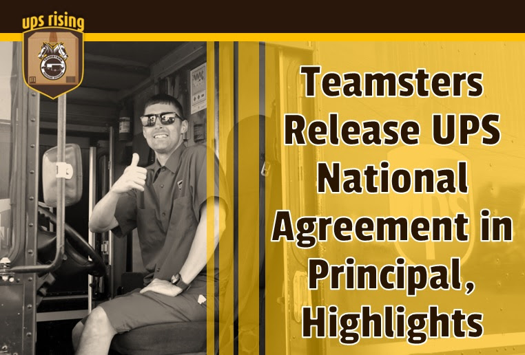 Read The Full Teamsters Ups National Agreement In Principal