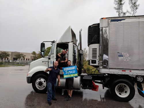 Sysco Miami Drivers Vote to Join Teamsters Local 769