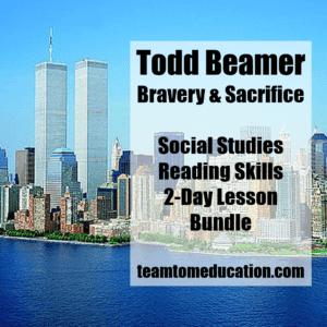 September 11 and Todd Beamer Lesson