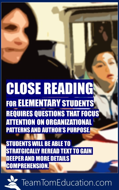 Tips and Question Stems to get Instant Success with Close Reading for Elementary Students