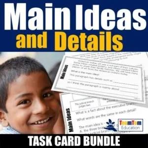 Main Idea Teaching Resources for STAAR Prep