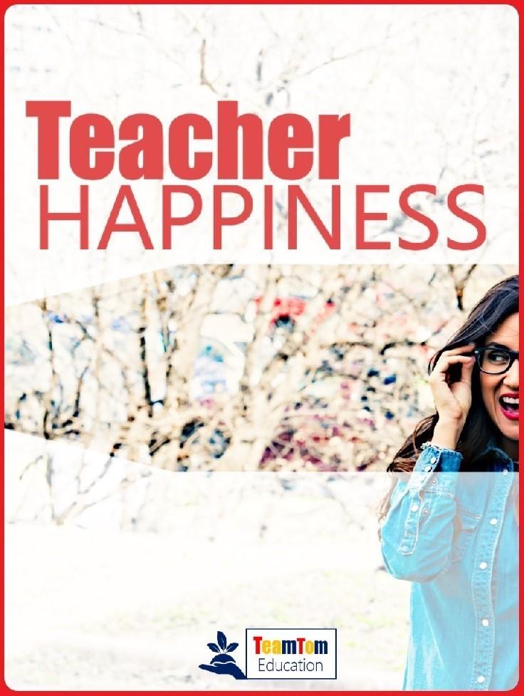 Teacher happiness can impact student learning! Don't miss out on these three keys to teacher happiness: