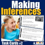 TPT Back to School Sale for Author's Purpose Task Cards