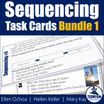 Task Cards for Teaching Sequencing in Biographies