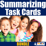 Summarizing and Sequencing Task Card Bundle on TeachersPayTeachers