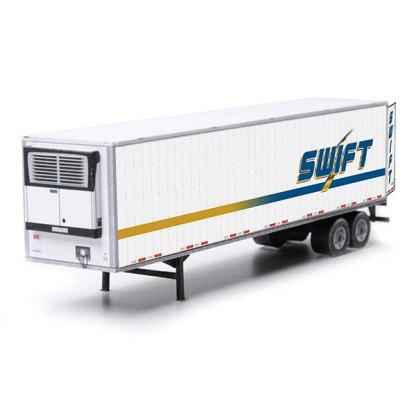 semi-trailer swift paper model kit railroad