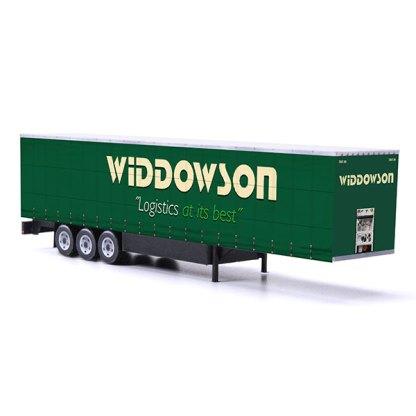 euroliner trailer paper model kit widdowson
