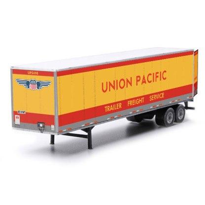 semi-trailer paper model kit union pacific