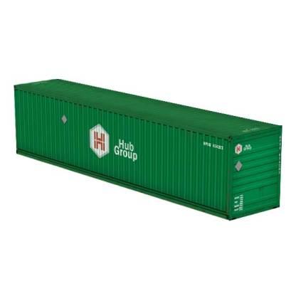 Hub Group intermodal container paper model