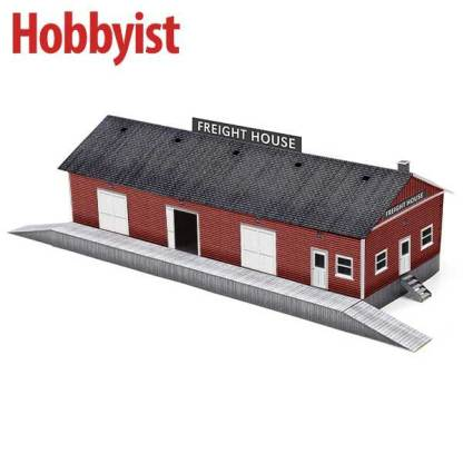 Freight House in Red Lapboard