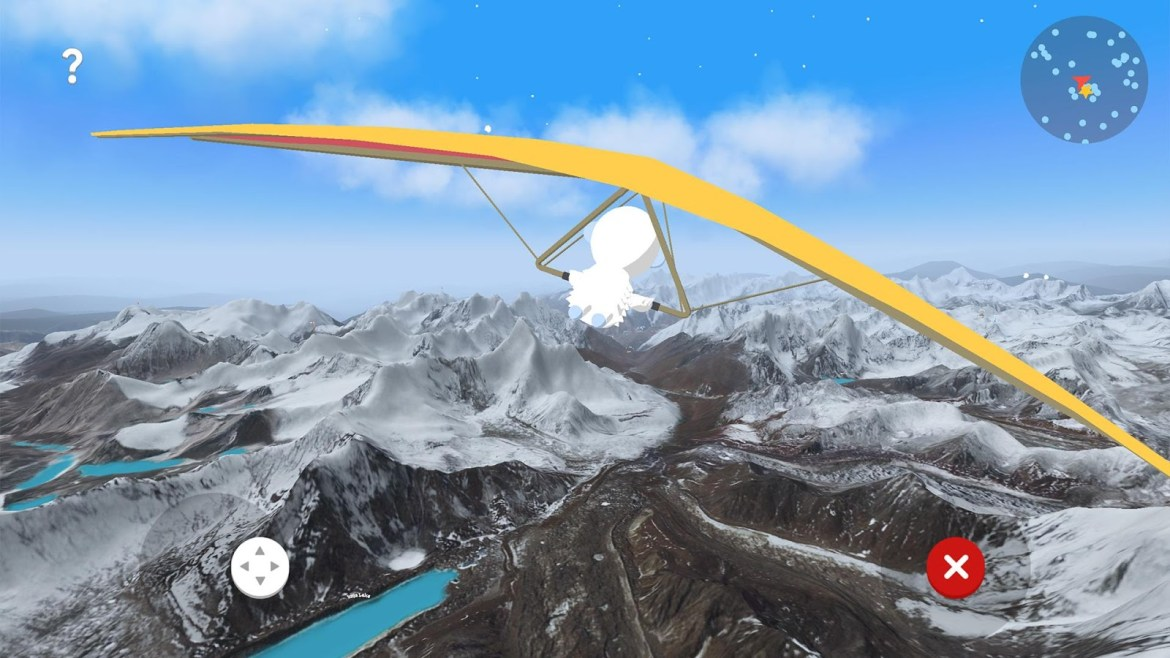 android, explore, app, himalayas, mt. everest, verne, map, google maps