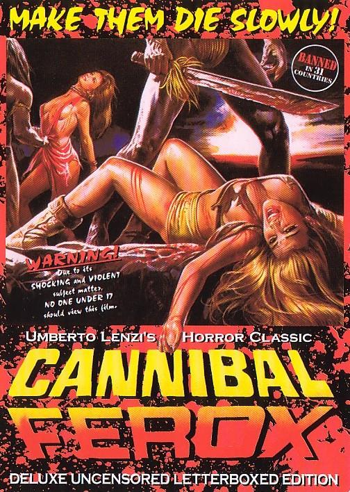 cannibal ferox DVD