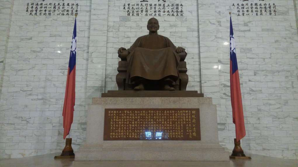 chiang kai shek hall Visa Free Entry in Taiwan