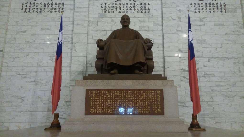 chiang kai shek hall Visa Free Entry in Taiwan