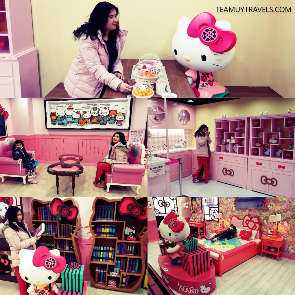 HELLO KITTY MUSEUM IN N SEOUL TOWER, TEAM UY TRAVELS