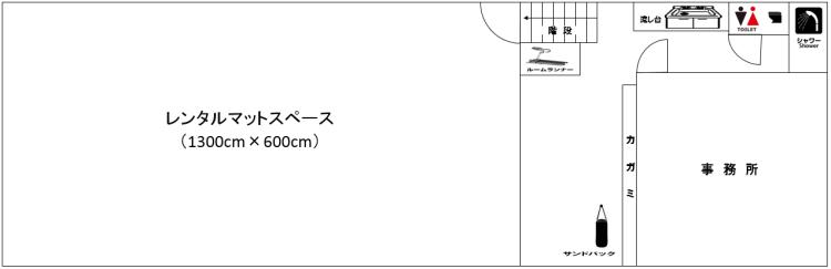 レンタルスペース図