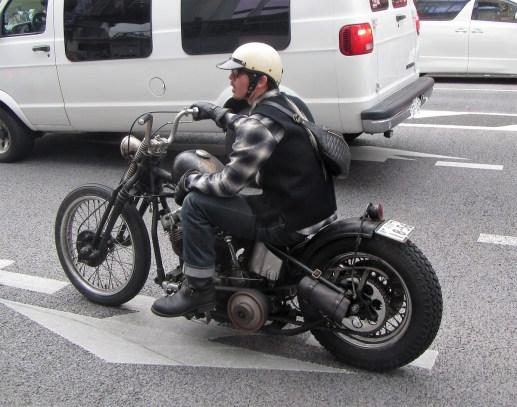 Even this bike was quiet