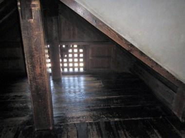 Note the trapdoor