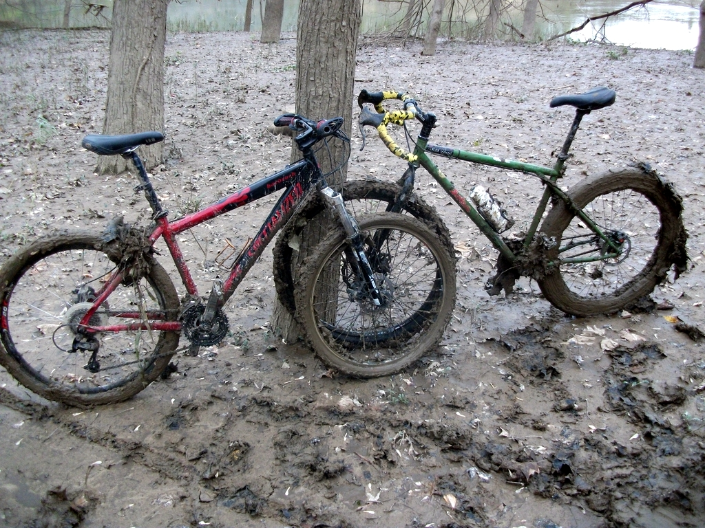 Muddy Bikes at Castlewood