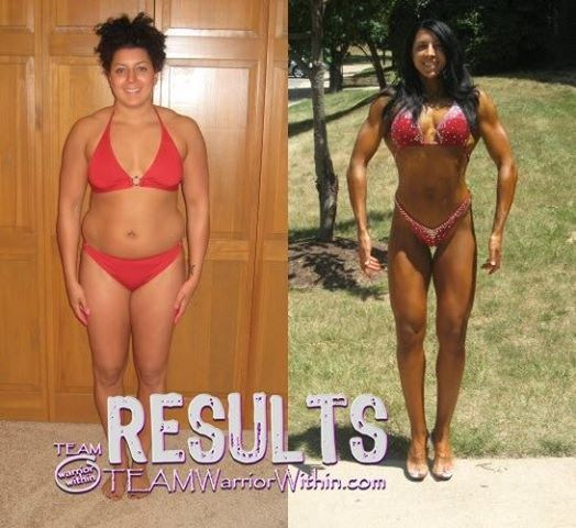 Nikki Johnston -Before-and-After - Personal Trainer Columbia MD