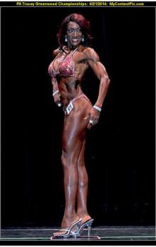 Felecia Murray IFBB Pro - Before and After