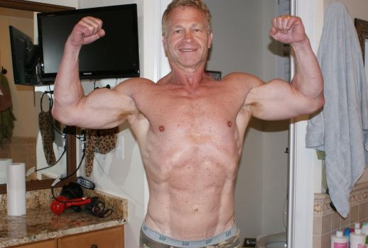 Jerry Freishtat - After - Men's Physique Competitor - Maryland NPC Bodybuilding