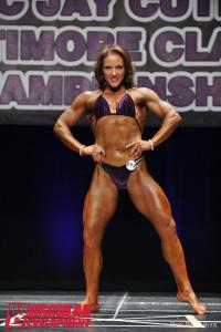 Christina Fahey - Muscle Gain - Women's Bodybuilding Competitor NPC Maryland