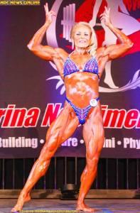 Donna McGinn - After - Womens Bodybuilding IFBB Pro - Maryland
