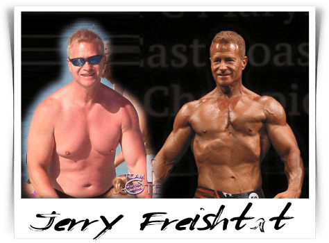 Jerry Freishtat - Men's Physique Competitor -Before / After - Maryland NPC Bodybuilding