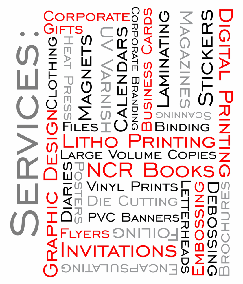 Printing, Business Cards, Flyers, Posters, Labels, Corporate Branding