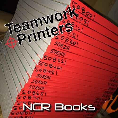 NCR Books Teamwork Printers