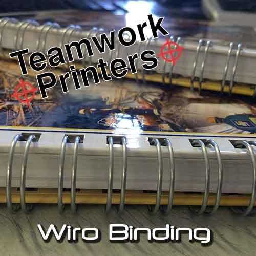 Wiro Binding Teamwork Printers