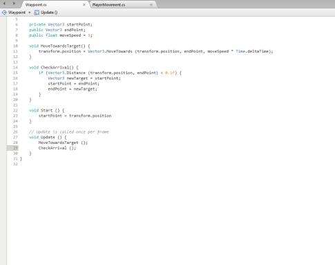 Waypoint Script 2