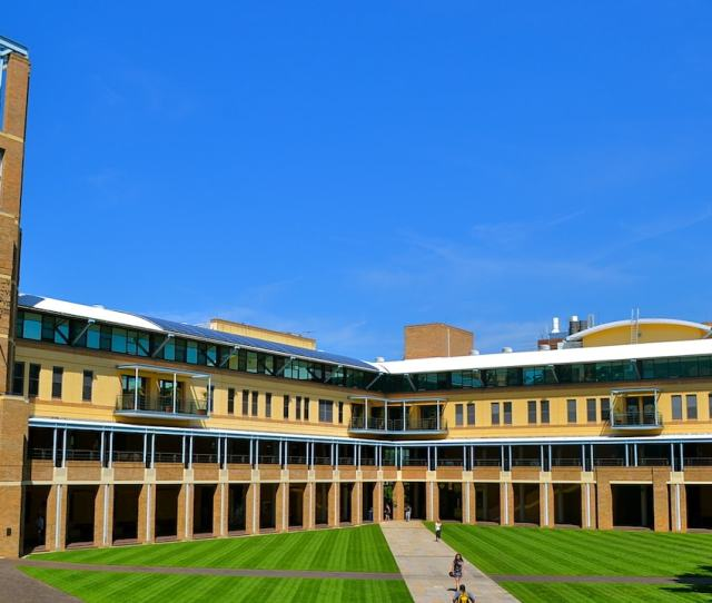 University Of New South Wales Quadrangle With Bright Blue Skies