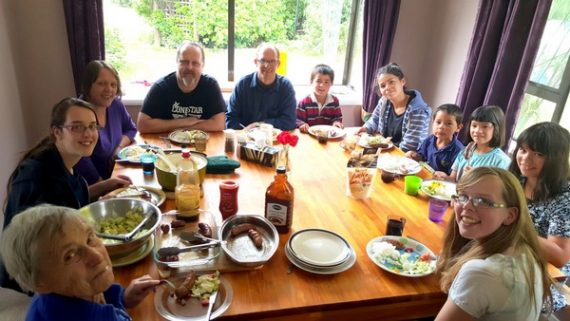Meal Time at Te Anau Homestay